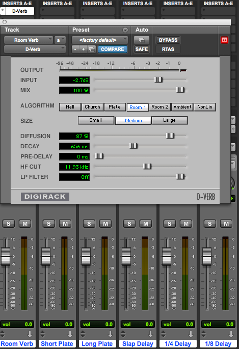 Session Templates The Basics Pro Tools Production