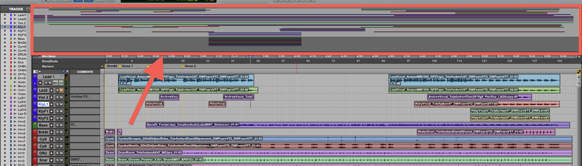 Universe View | Pro Tools Production