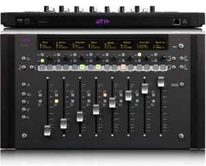 best pro tools control surface is made by AVID