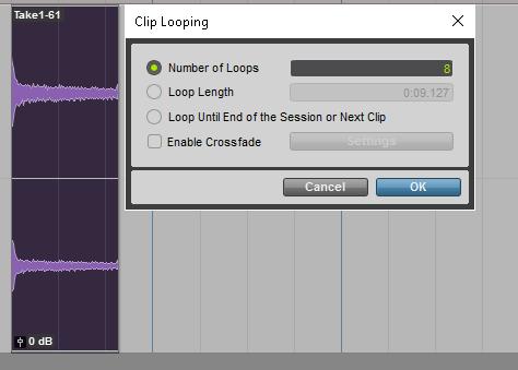 Loop Dialog