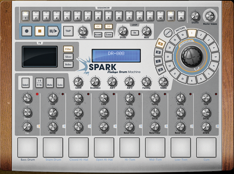 Arturia Spark Vintage Drum Machine
