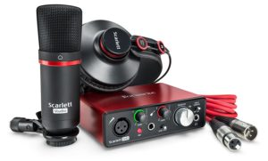 The Focusrite Studio Bundle