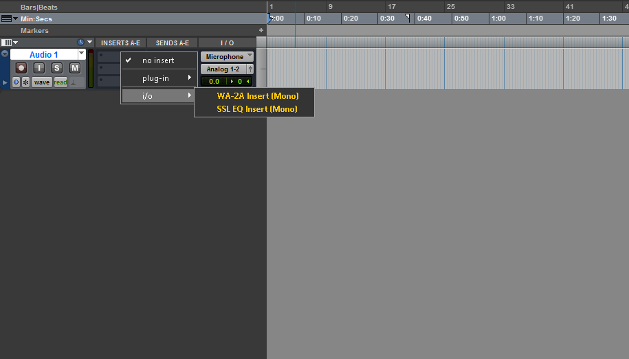 Instantiating The Hardware Insert On A Track