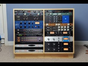 A DIY Rack Full Of External Hardware