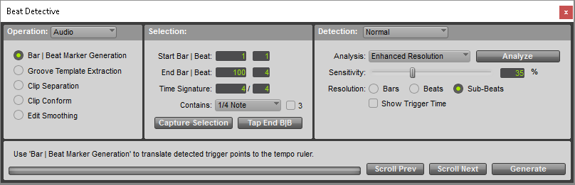 Beat Detective for Pro Tools: An Overview | Pro Tools Production