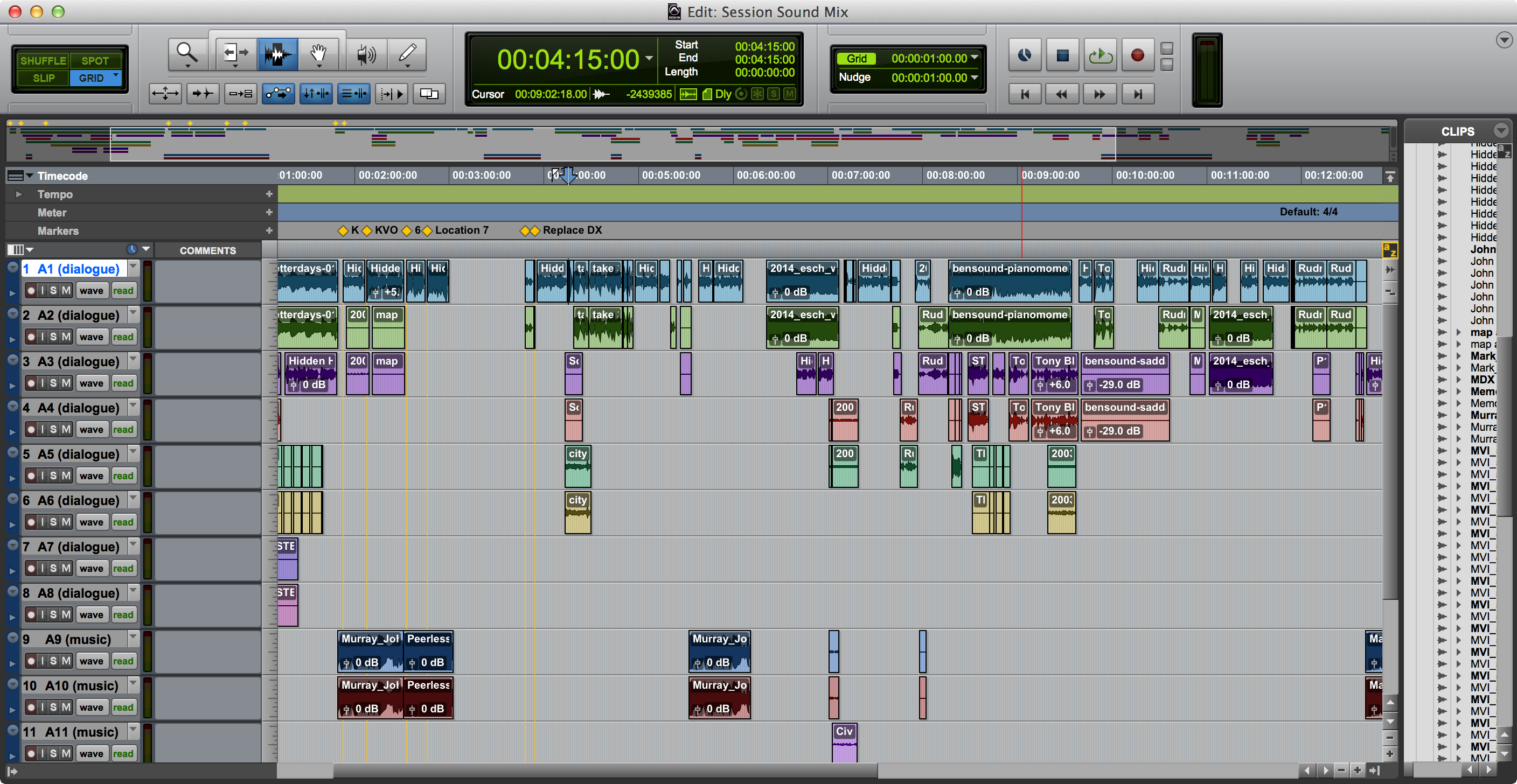 Working with OMF and AAF files in Pro Tools | Pro Tools Production