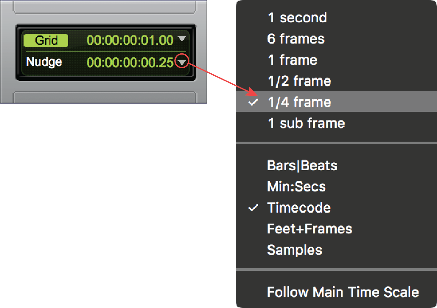 Nudging and Shifting Clips and Selections in Pro Tools | Pro Tools