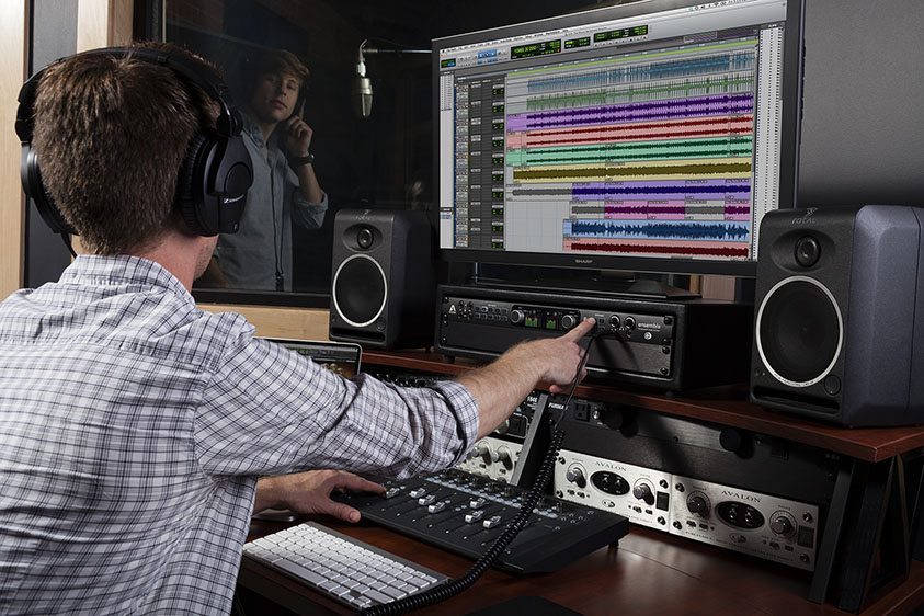 best audio interface for pro tools in 2018 pro tools production. Black Bedroom Furniture Sets. Home Design Ideas